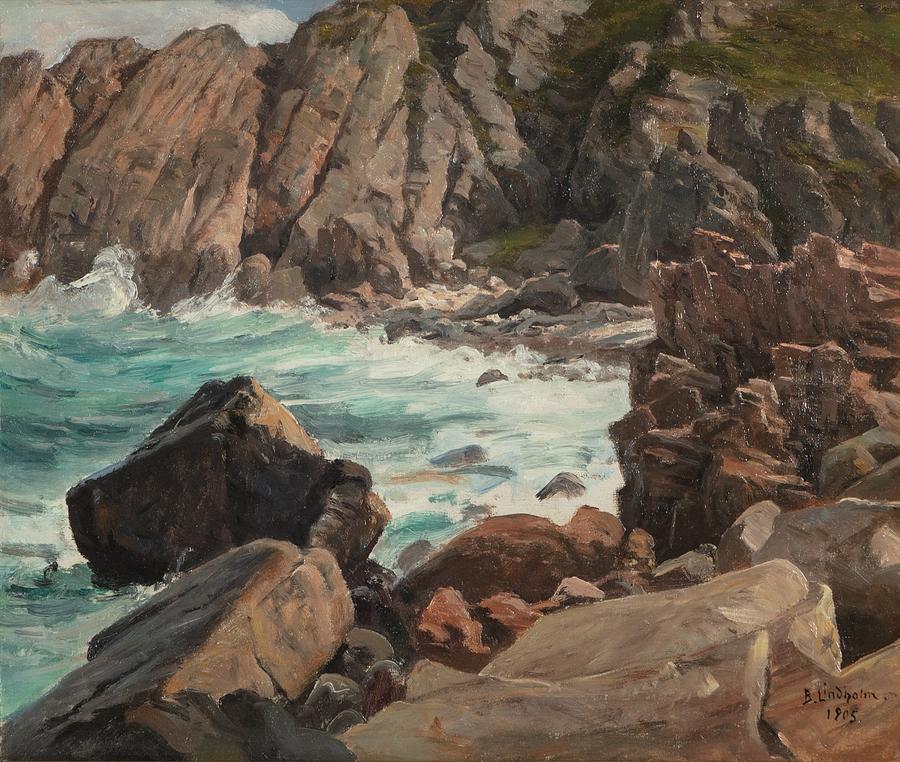 Berndt Lindholm Painting