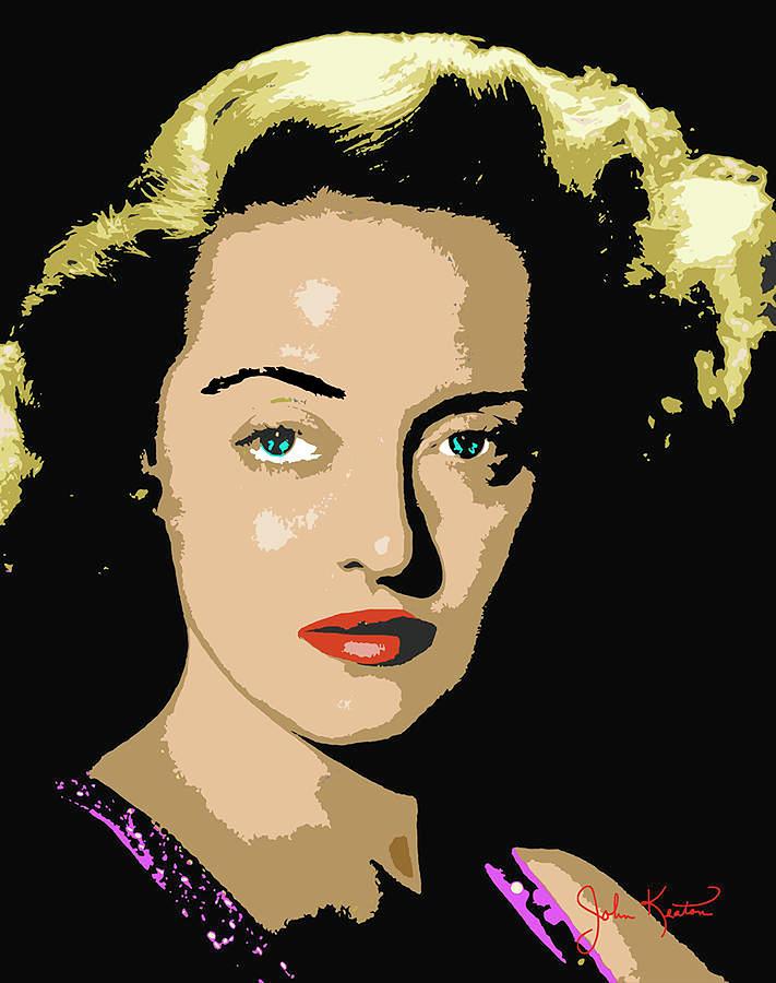 Bette Davis Digital Art
