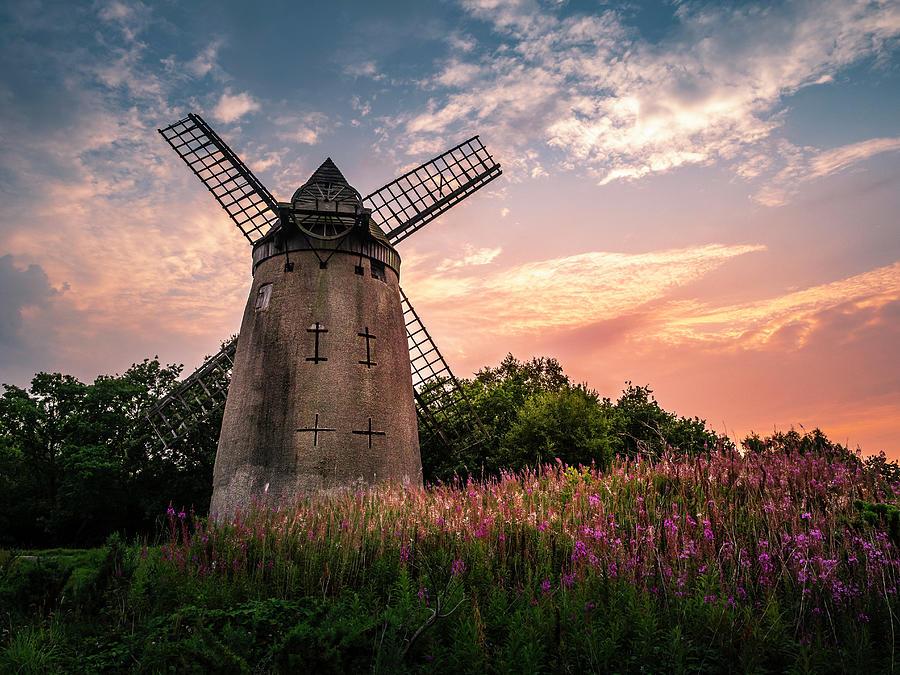 Bidston Windmill Photograph