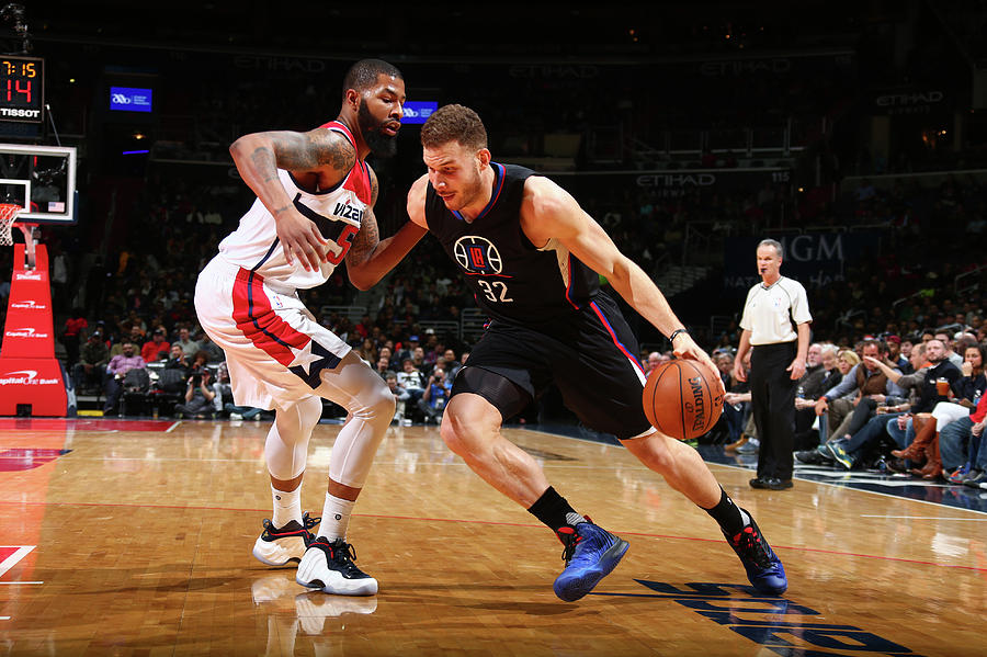 Blake Griffin Photograph by Ned Dishman