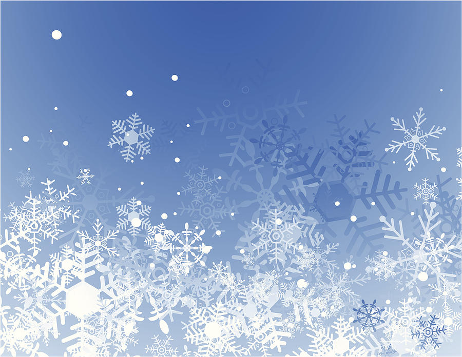 Blue christmas background Drawing by Traffic_analyzer