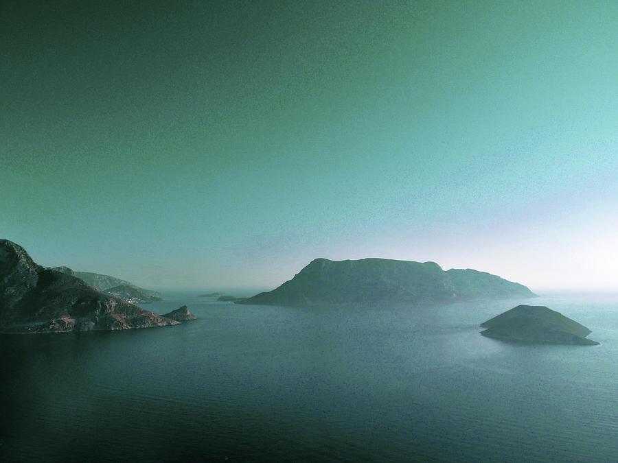 Blue Hour - Surreal Art By Ahmet Asar - Shortcut Digital Art