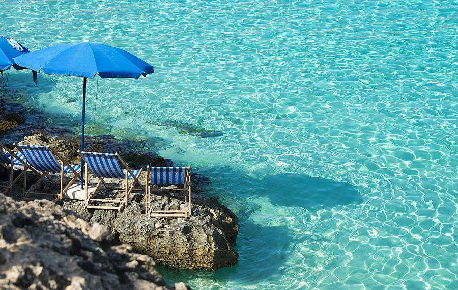 Blue Lagoon Camino Island Malta Photograph by Paul Biris
