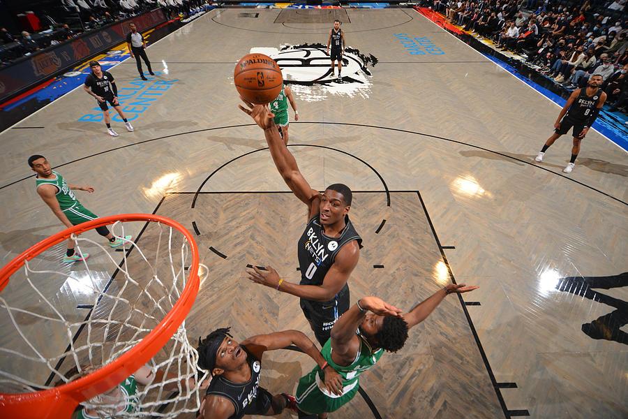 Boston Celtics v Brooklyn Nets - Game Two Photograph by Jesse D. Garrabrant