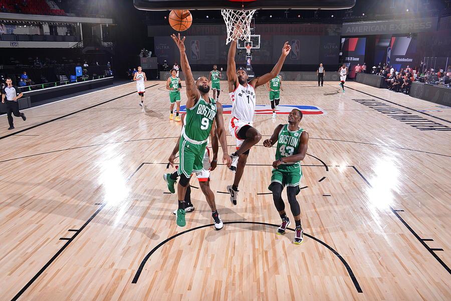 Boston Celtics v Toronto Raptors Photograph by Bill Baptist