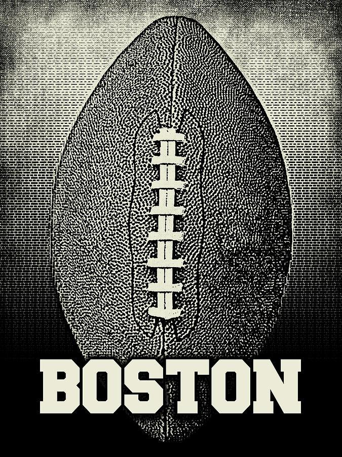 Boston Football - Sports by Flo Karp
