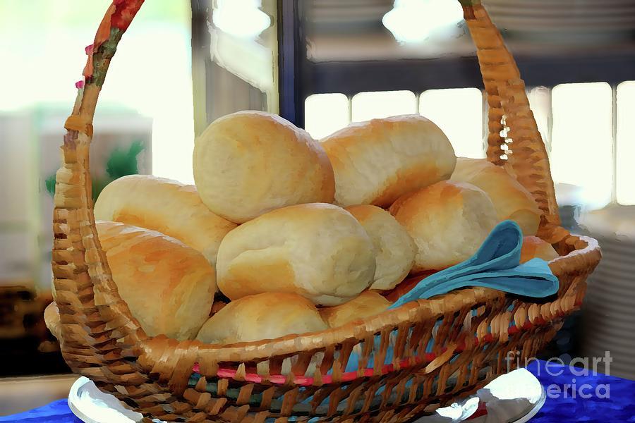 Bread Basket Digital Art
