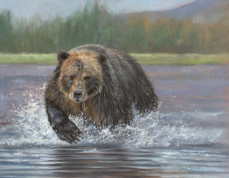 Brown Bear Painting