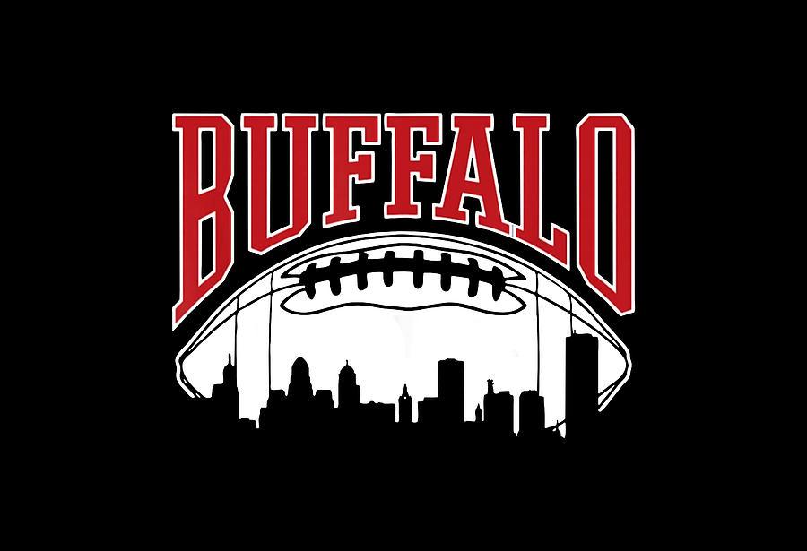 Buffalo Football Digital Art