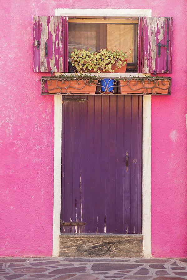Burano Entrance Photograph