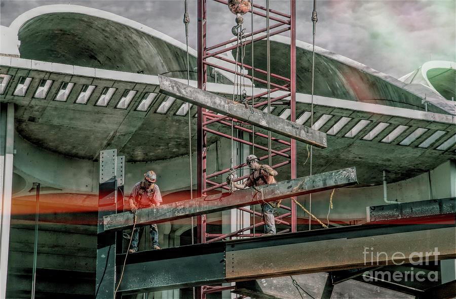 St Louis Digital Art - Busch Stadium - The Fading by Chris Mautz