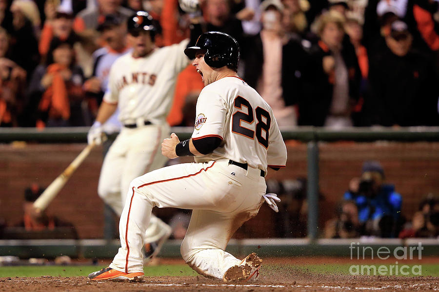 Buster Posey Photograph by Jamie Squire