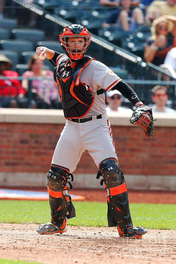 Buster Posey Photograph by Mike Stobe