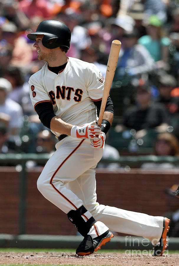 Buster Posey Photograph by Thearon W. Henderson
