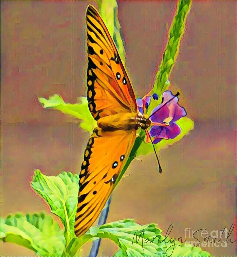 Butterfly by Marilyn Smith