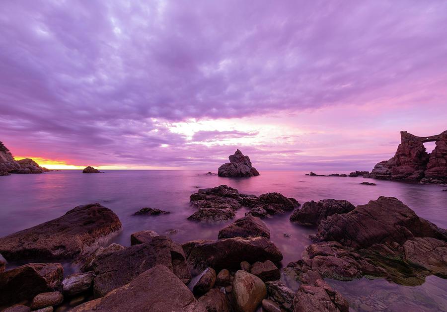 Spain Photograph - Cala Dels Frares In Lloret De Mar, Girona by Vicen Photography