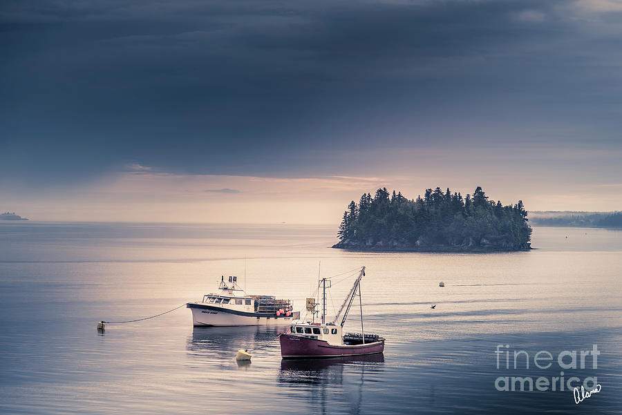 Calm Waters Photograph
