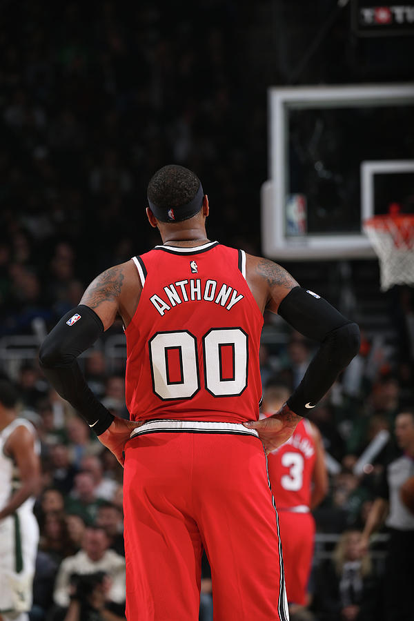 Carmelo Anthony Photograph by Gary Dineen