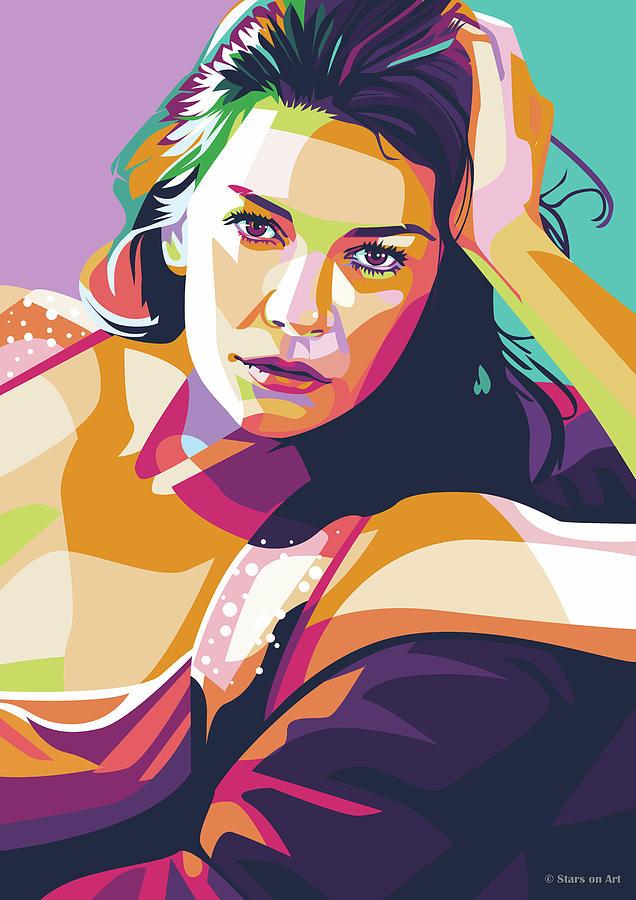 Catherine Zeta-jones Digital Art