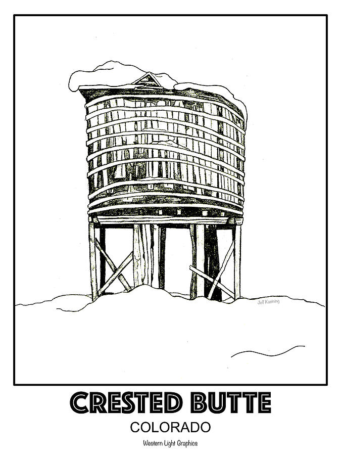 CB Water Tower by Jeff Kastning