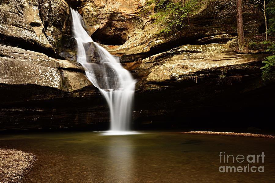 Cedar Falls by Larry Ricker