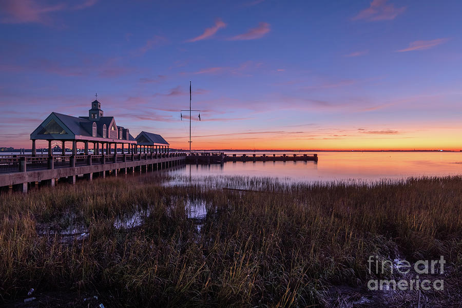 Charleston Waterfront Park Photograph