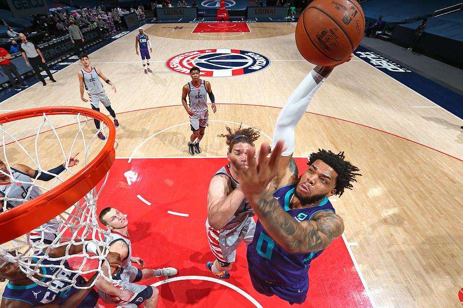 Charlotte Hornets v Washington Wizards Photograph by Stephen Gosling