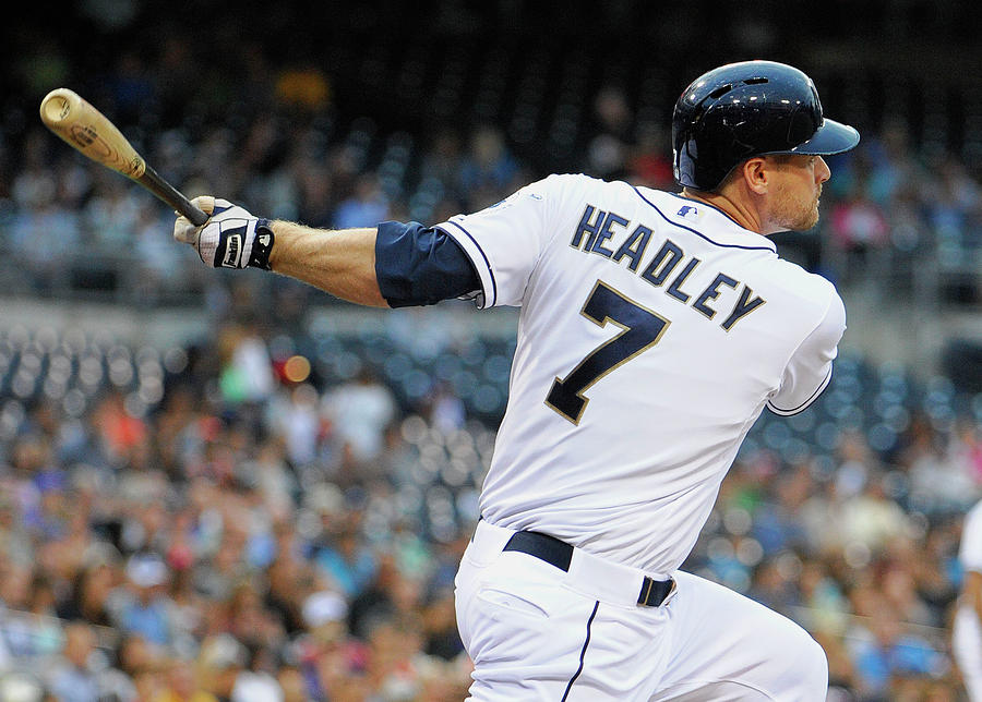 Chase Headley Photograph by Denis Poroy