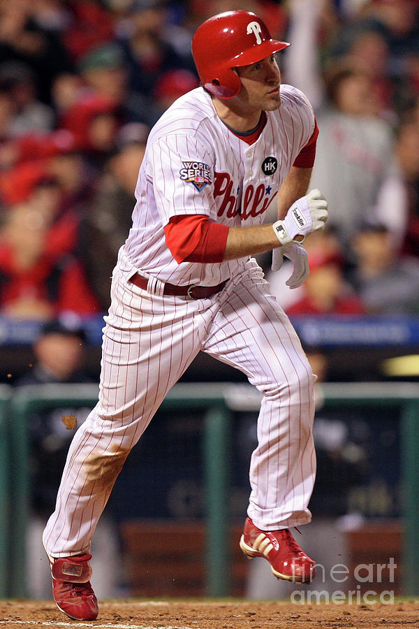 Chase Utley Photograph by Jed Jacobsohn