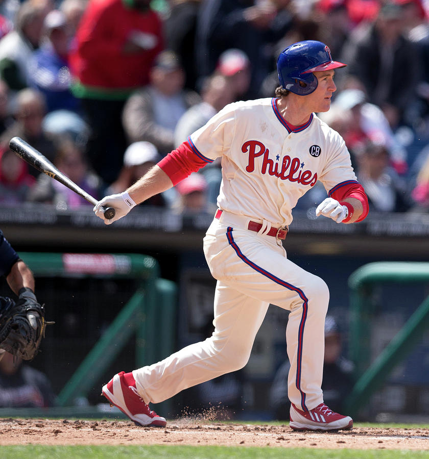 Chase Utley Photograph by Mitchell Leff