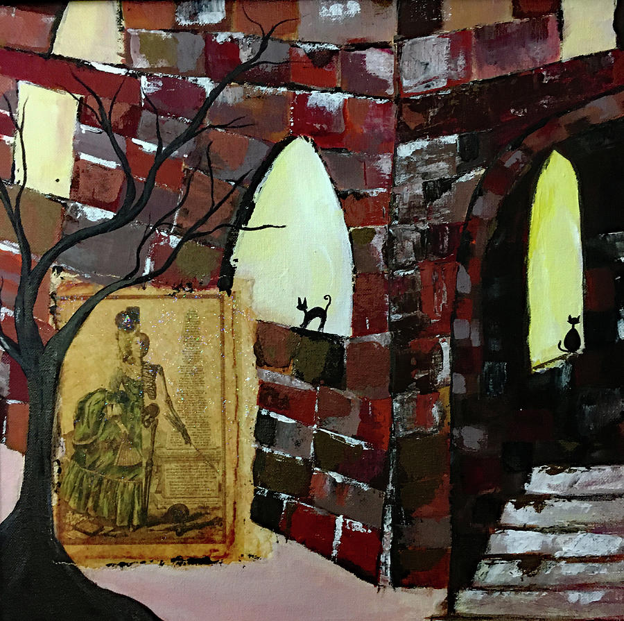 Chateau Haunted Painting