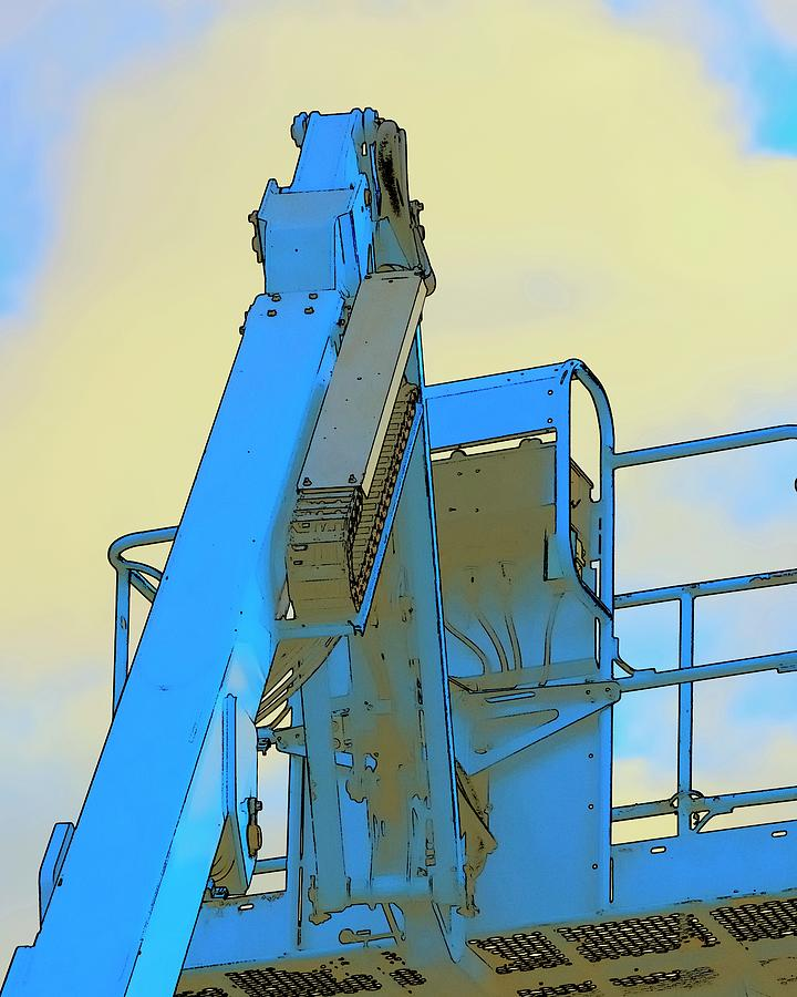 Cherry Picker Detail Photograph