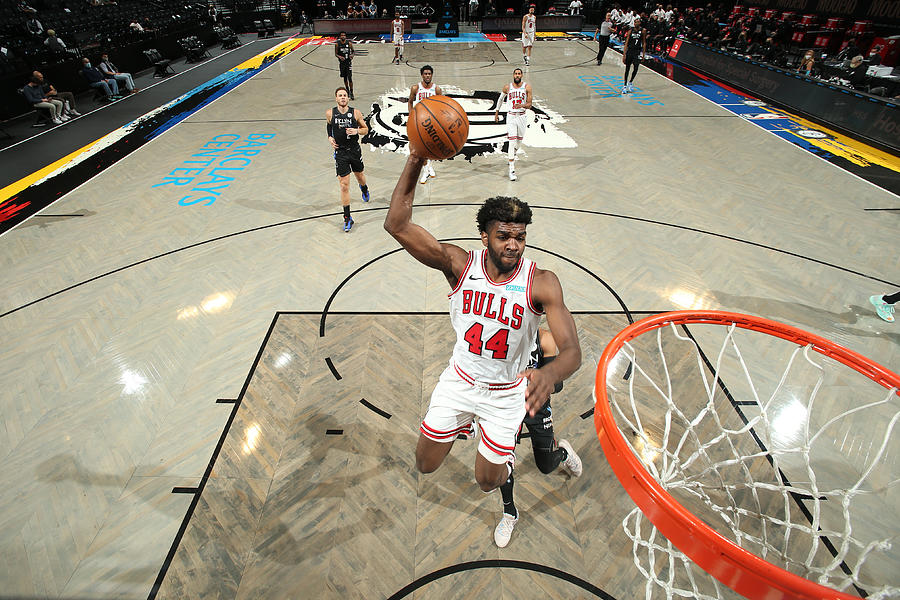 Chicago Bulls v Brooklyn Nets Photograph by Nathaniel S. Butler