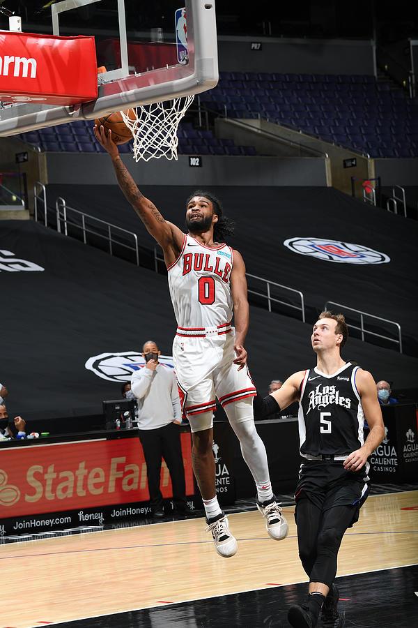 Chicago Bulls v LA Clippers Photograph by Adam Pantozzi