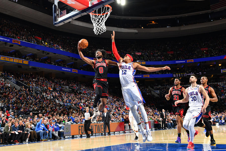 Chicago Bulls v Philadelphia 76ers Photograph by Jesse D. Garrabrant