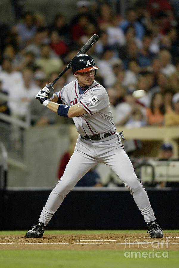 Chipper Jones Photograph by Streeter Lecka