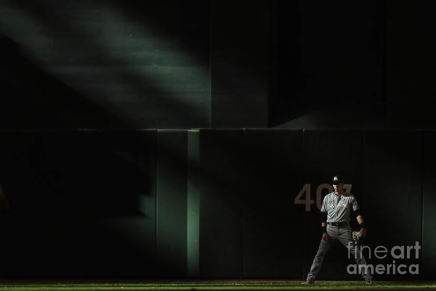 Christian Yelich Photograph by Christian Petersen