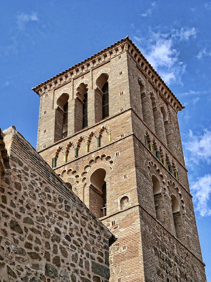 Church Of Santo Tome - Toledo Spain Photograph