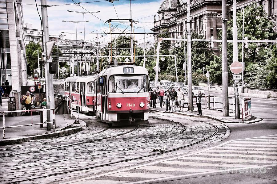 City Trams by Bridget Mejer