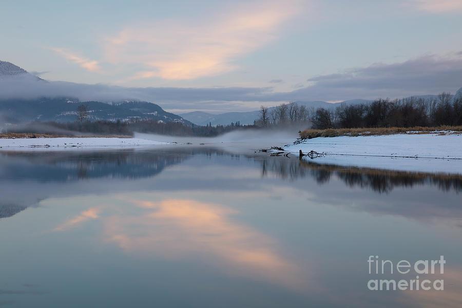 Clark Fork Mists Photograph