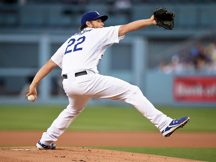 Clayton Kershaw Photograph by Harry How