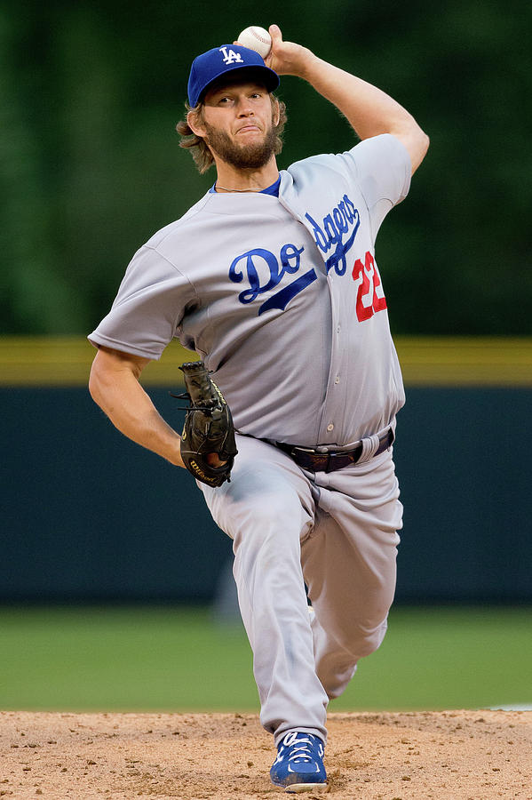 Clayton Kershaw Photograph by Justin Edmonds