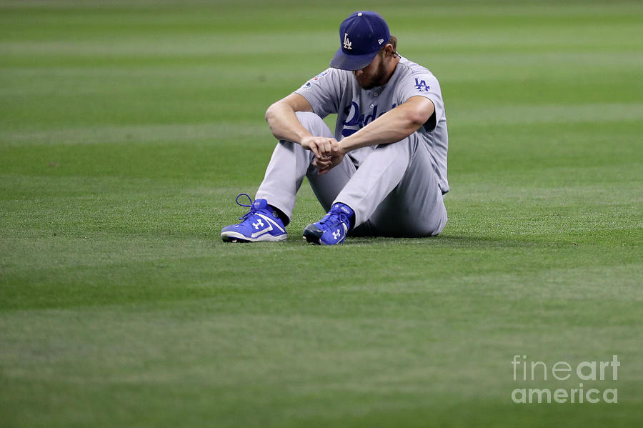 Clayton Kershaw Photograph by Rob Carr