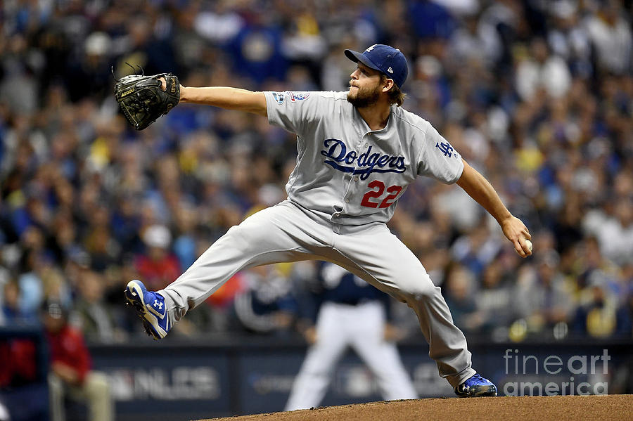 Clayton Kershaw Photograph by Stacy Revere