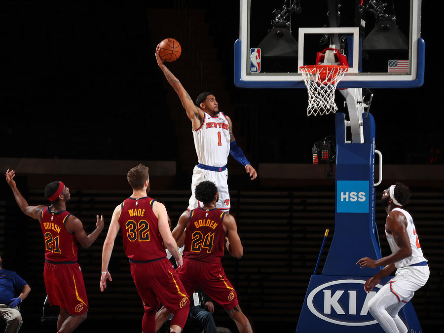Cleveland Cavaliers v New York Knicks Photograph by Nathaniel S. Butler