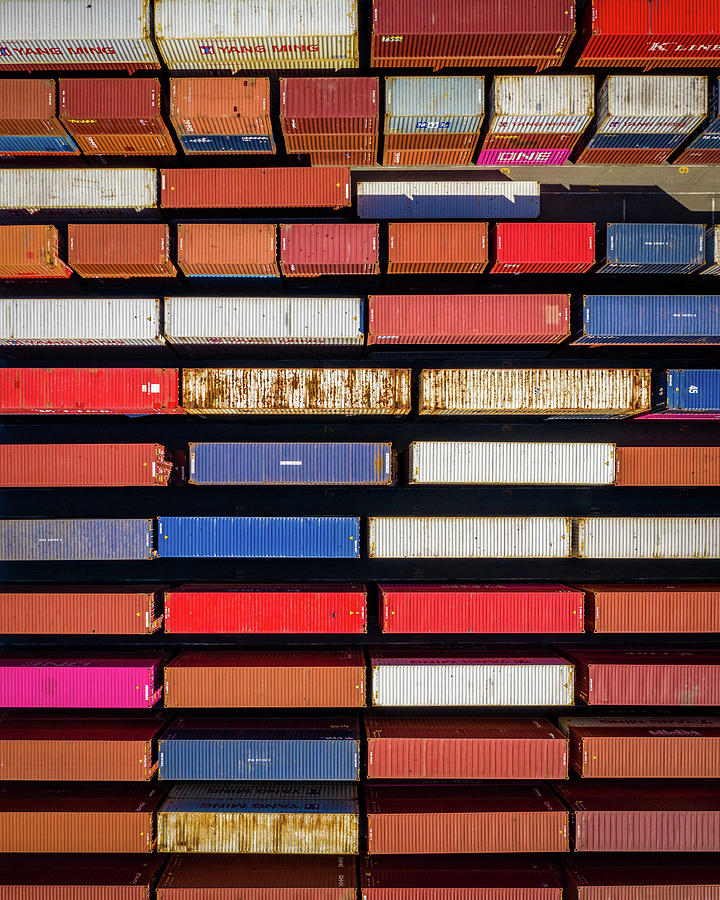 Container Colors Photograph