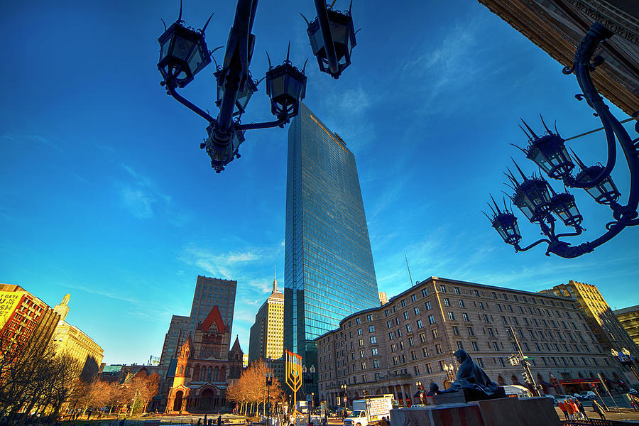 Copley Square Boston by Joann Vitali