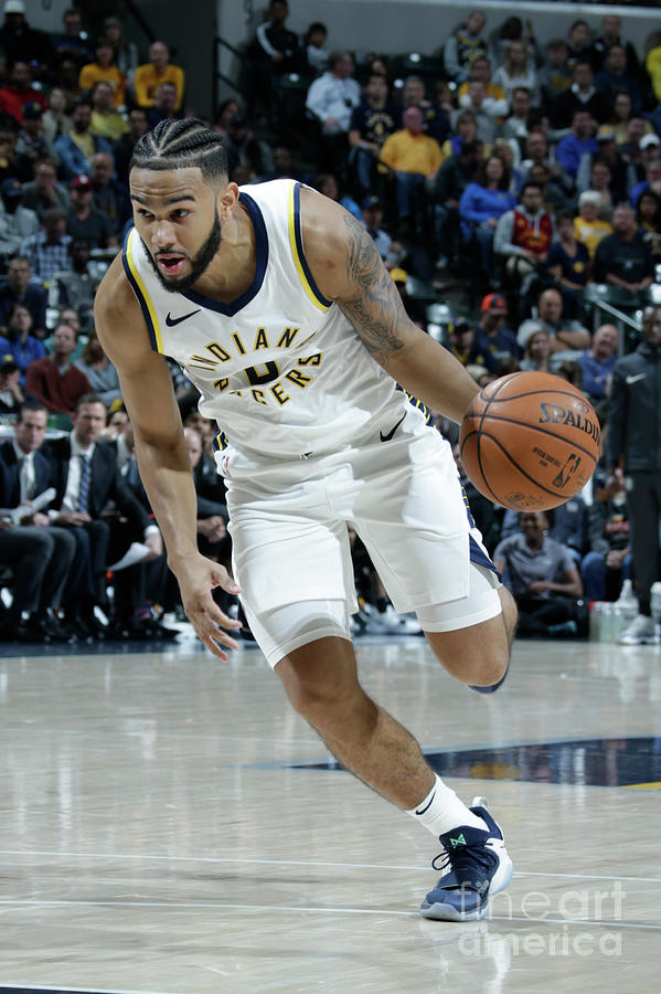 Cory Joseph Photograph by Ron Hoskins