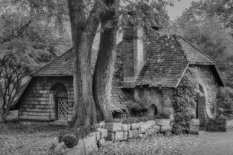 Cottage During Autumn by Susan Candelario