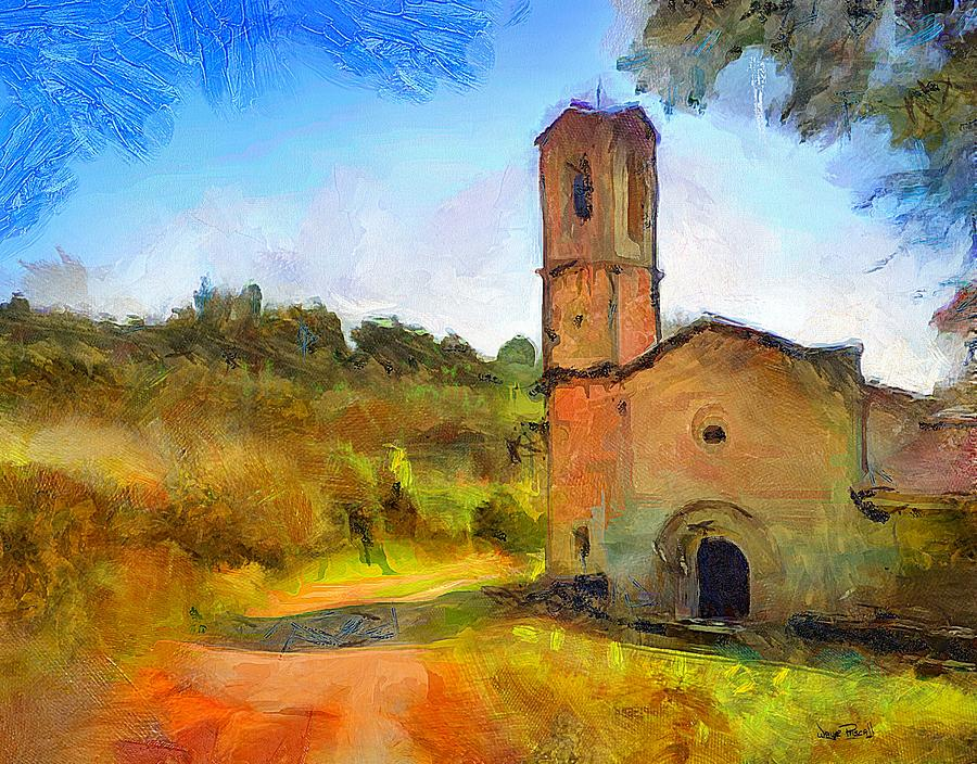 Country Cathedral by Wayne Pascall